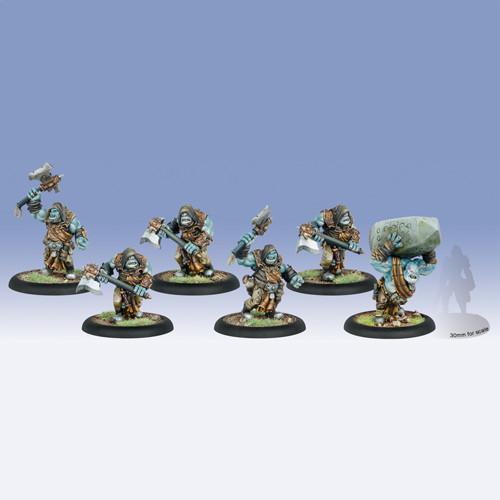 Hordes: Trollbloods - Krielstone Bearer & Scribes Box (6)
