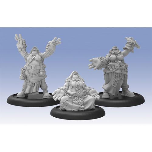 Hordes: Trollbloods - Dhunian Knot Trollkin Unit (3)