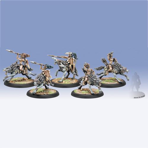 Hordes: Circle - Tharn Wolf Riders (5)
