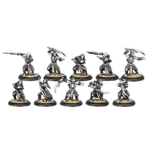 Hordes: Legion - Blighted Nyss Hex Hunter Unit Box (10)