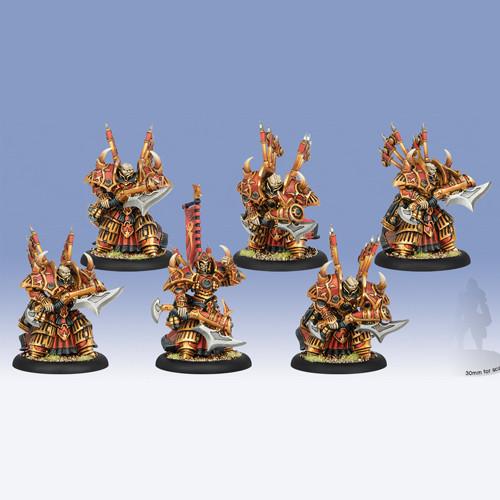 Hordes: Skorne - Cataphract Incindiarii Unit Box (6)