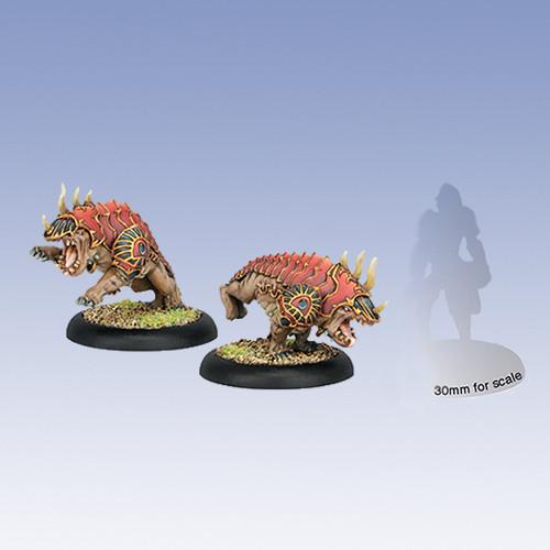 Hordes: Skorne - Reptile Hounds (2)