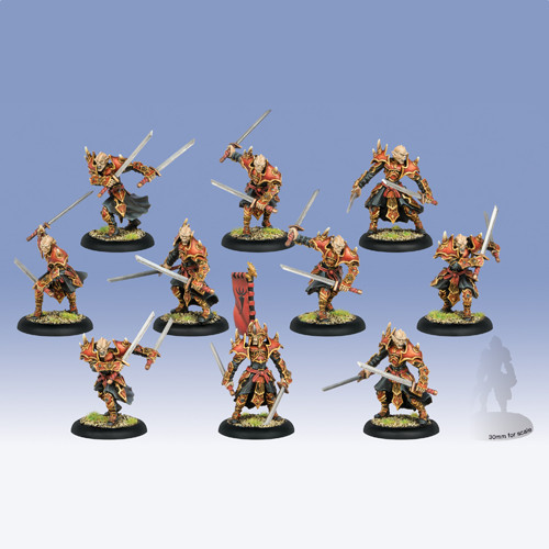 Hordes: Skorne - Praetorian Keltarii/Swordsmen Unit Box (10)