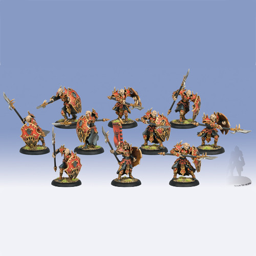 Hordes: Skorne - Praetorian Karax Unit (10)