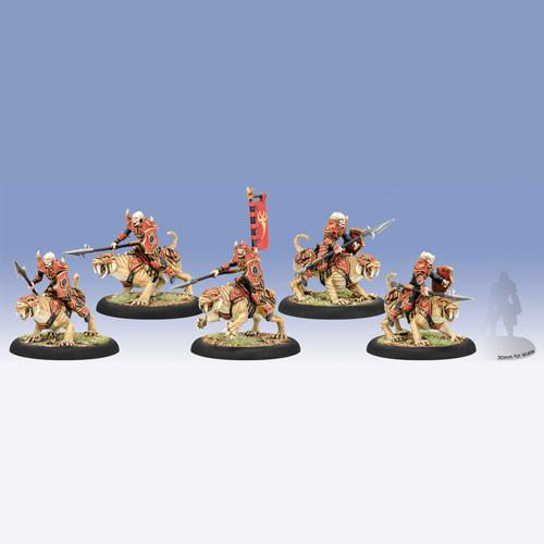 Hordes: Skorne - Praetorian Ferox, Cavalry Unit (5)