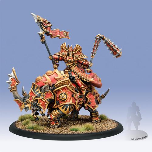 Hordes: Skorne - Xerxis, Fury of Halaak Epic Cavalry Engine Warlock