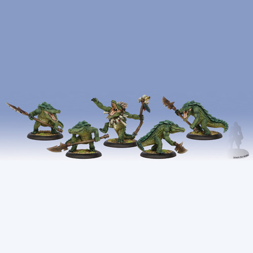 Hordes: Minions - Gatorman Posse Unit Box (5)
