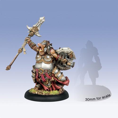 Hordes: Minions - Helga the Conqueror Farrow Warlock (1)