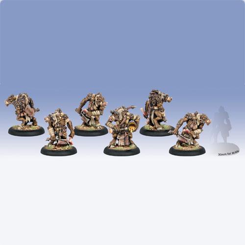 Hordes: Minions - Farrow Bone Grinders (6)