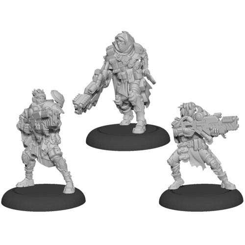 Warcaster Neo-Mechanika: Marcher Worlds - Ranger Fire Team