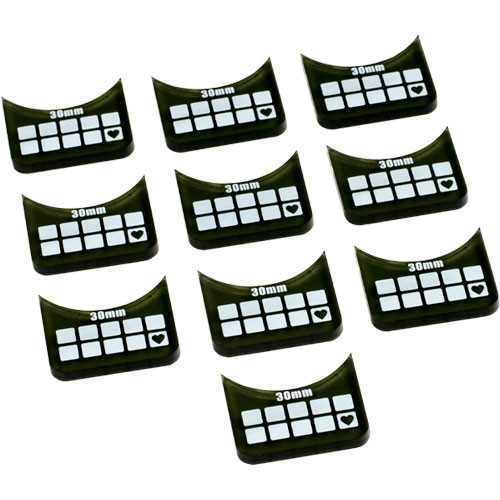 Warmachine/Hordes: Small-Base Wound Markers (10)