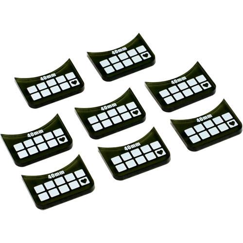 Warmachine/Hordes: Medium-Base Wound Markers (8)