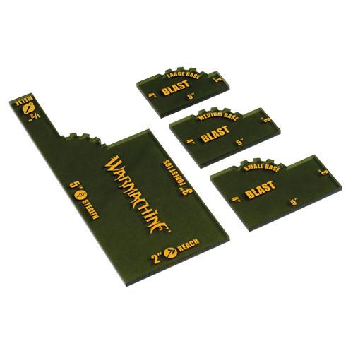 Warmachine: Quick Measuring Set (4)