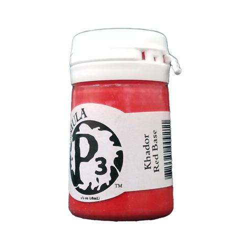 Formula P3 Khador Base Red Paint