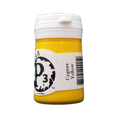 Formula P3 Cygnus Yellow Paint