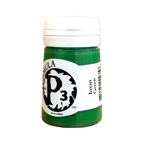 Formula P3 Iosan Green Paint