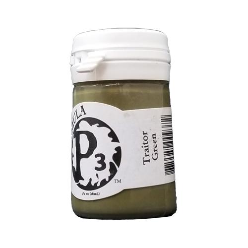 Formula P3 Traitor Green Paint