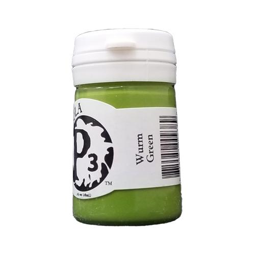 Formula P3 Wurm Green Paint