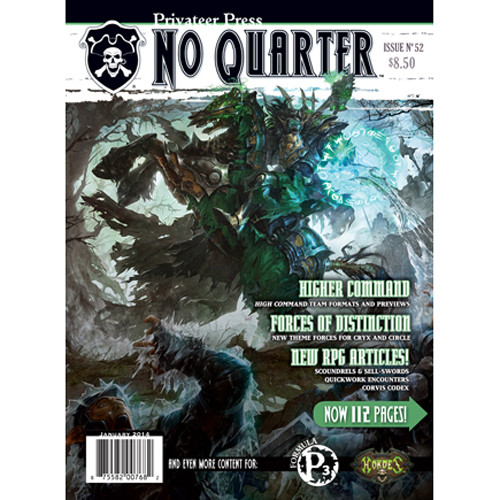 No Quarter Magazine #52