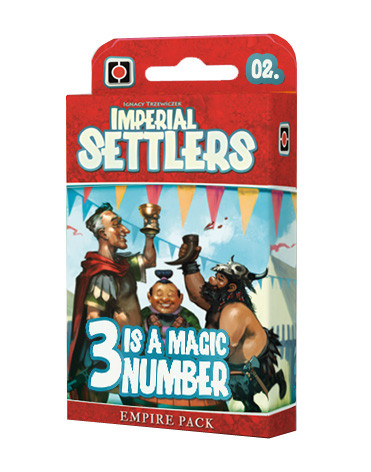 Imperial Settlers: Empire Pack #2 - 3 is a Magic Number