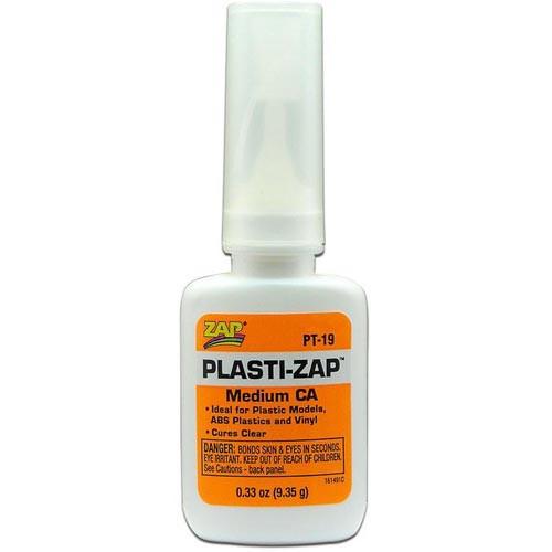 Zap Plasti-Zap Medium CA (1/3 oz.)