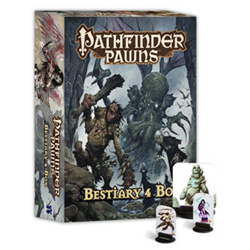 Pathfinder RPG: Pawns - Bestiary 4 Box