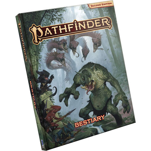 Pathfinder 2E RPG: Bestiary - Standard Edition   Role