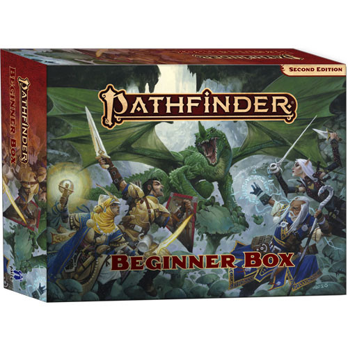 Pathfinder 2E RPG: Beginner Box