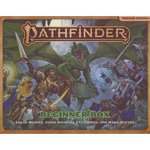 Pathfinder 2E RPG: Beginner Box