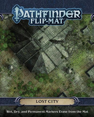 Pathfinder RPG: Flip-Mat - Lost City