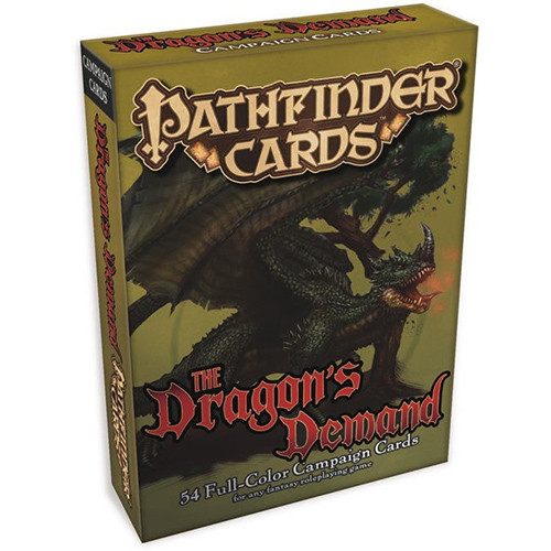 Pathfinder RPG: Campaign Cards - The Dragon's Demand