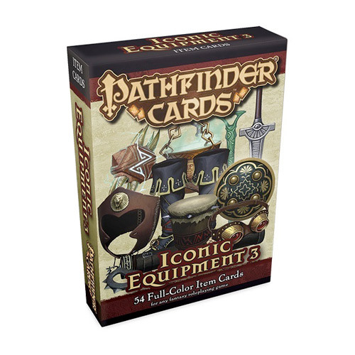Pathfinder RPG: Cards - Iconic Equipment 3 Item Cards
