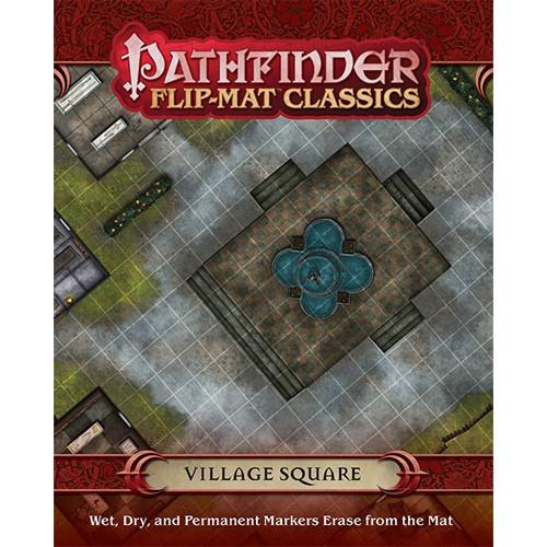 Pathfinder RPG: Flip-Mat Classics - Village Square