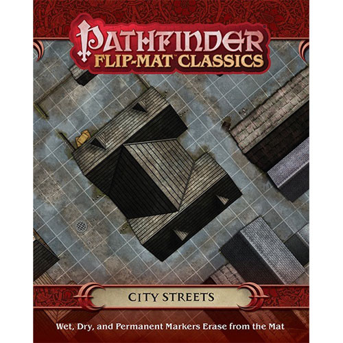 Pathfinder RPG: Flip-Mat Classics - City Streets