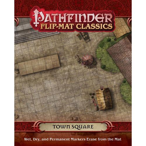 Pathfinder RPG: Flip-Mat Classics - Town Square