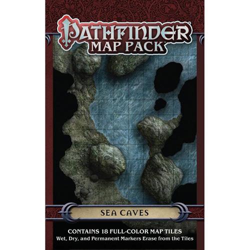 Pathfinder RPG: Map Pack - Sea Caves