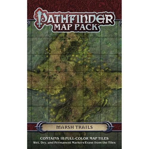 Pathfinder RPG: Map Pack - Marsh Trails