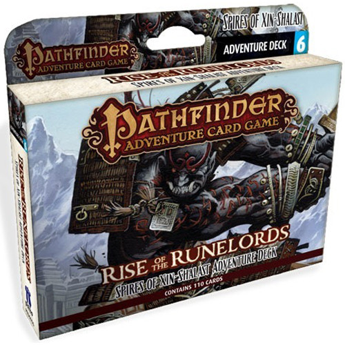 Pathfinder Adv Card Game: Rise/Runelords Deck 6: Spires of Xin-Shalast
