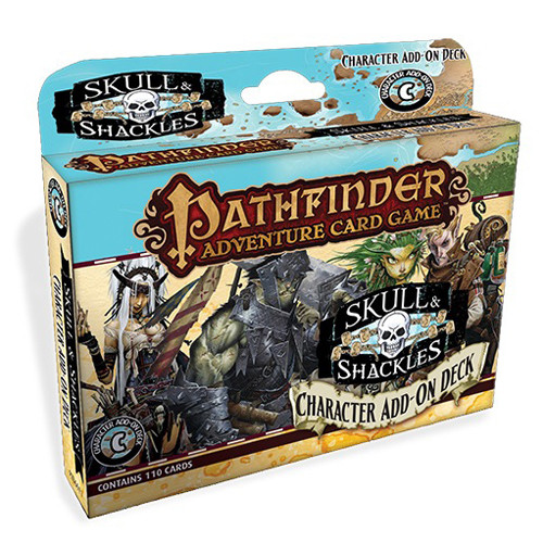 Pathfinder Adventure Card Game: Skull and Shackles - Character Add-On