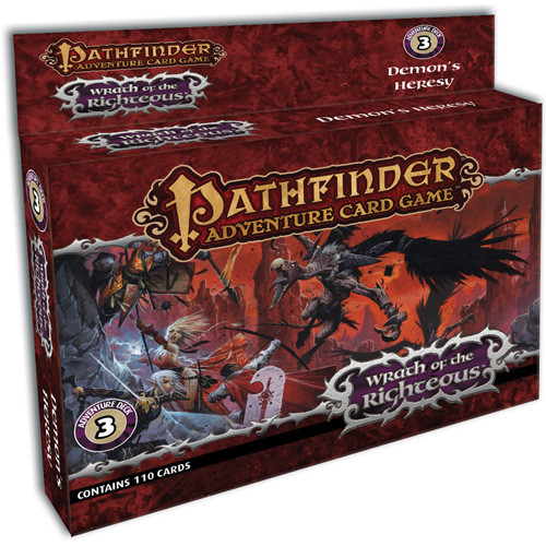Pathfinder Adventure Card Game: Wrath/Righteous Demon's Heresy Deck