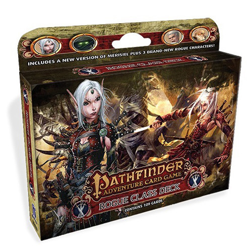 Pathfinder Adventure Card Game: Skull and Shackles - Rogue Class Deck