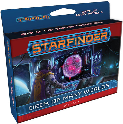 Starfinder RPG: Deck of Many Worlds