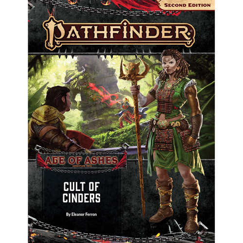 Pathfinder 2E RPG: Adventure Path #146 Cult of Cinders (Age