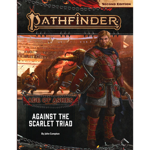 Pathfinder 2E RPG: Adventure Path #149 Against the Scarlet Triad