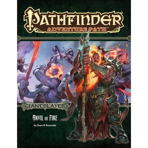 Pathfinder RPG: Adventure Path - Anvil of Fire