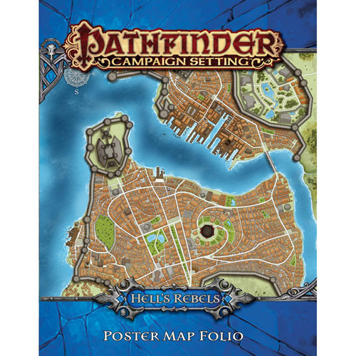 Pathfinder RPG: Campaign Setting - Hell's Rebels Poster Map Folio