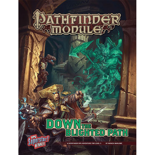 Pathfinder RPG: Module - Down the Blighted Path