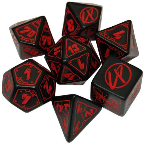 Cyberpunk Red RPG: Dice Set (7)