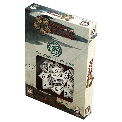 Legend of the Five Rings - Imperial Families Dice Set