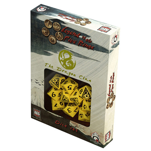 Legend of the Five Rings - Dragon Clan Dice Set